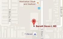 Steven L. Barnett, M.D Location